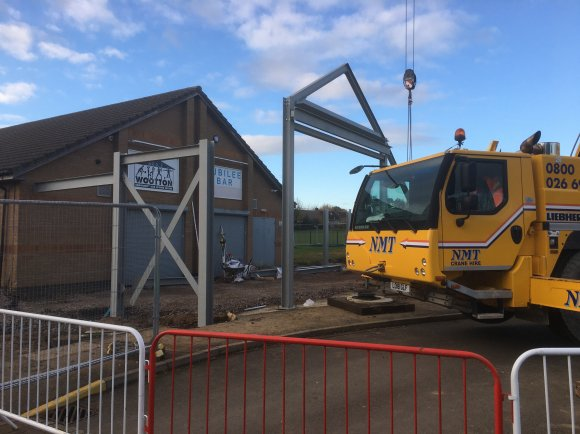 Community Centre Extension - Week Five